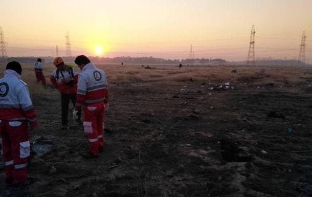 Место катастрофы украинского самолета фото