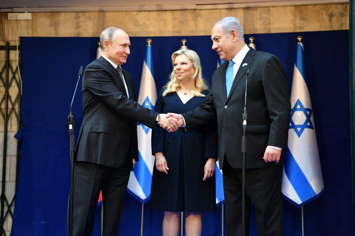 Нетаниягу и Путин провели переговоры в Иерусалиме. Фоторепортаж