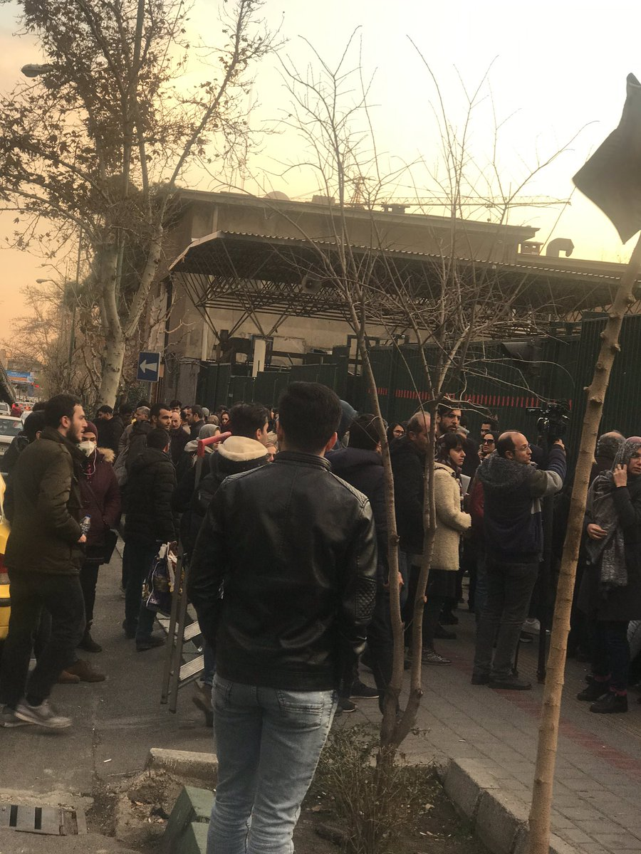 протесты тегеран фото