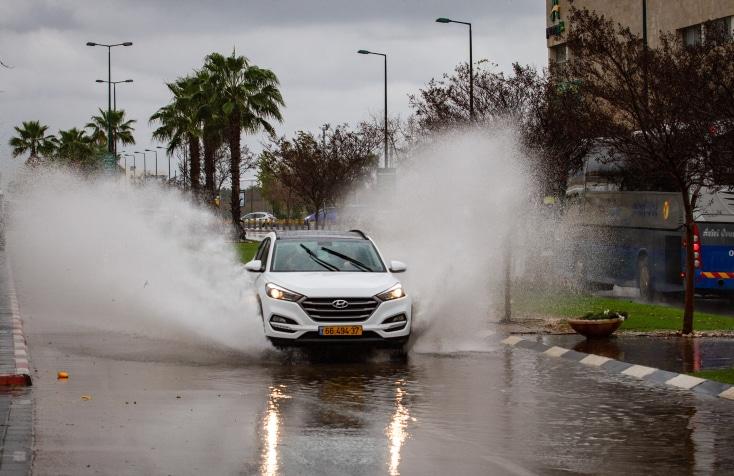 наводнение израиль фото