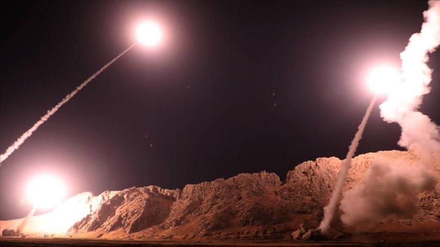 Ракетный удар фото