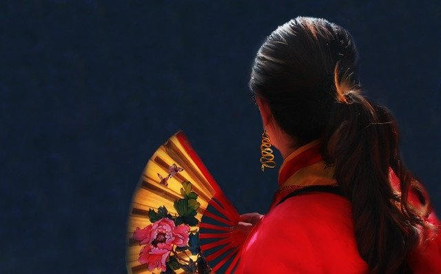 Китайская женщина фото