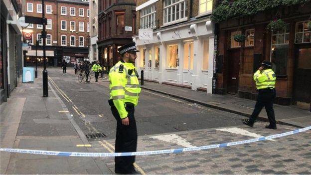 полиция лондона фото