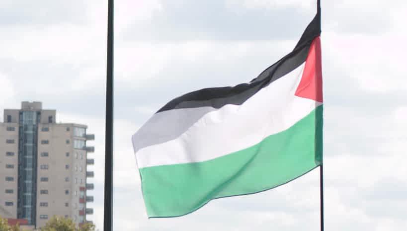 Палестинский флаг фото