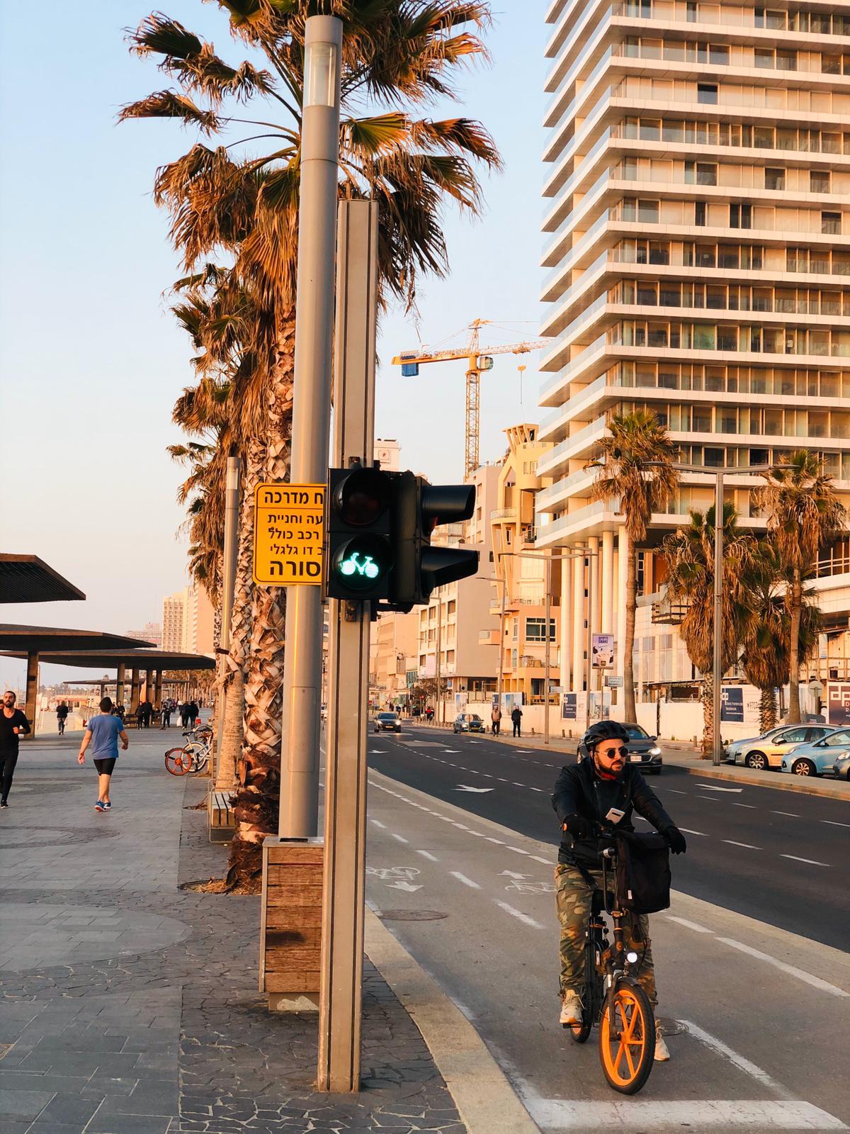 Набережная Тель-Авива фото