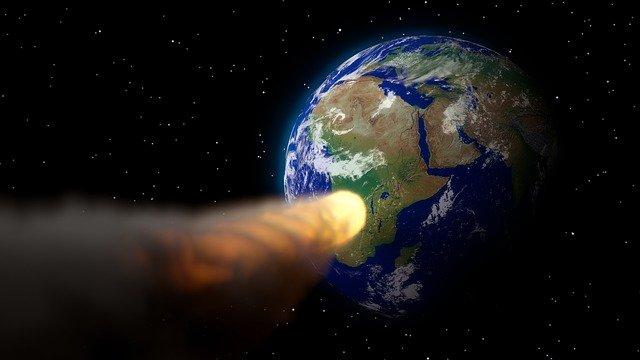 астероид земля фото