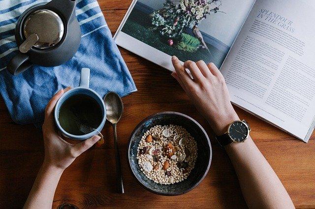 каша на завтрак фото