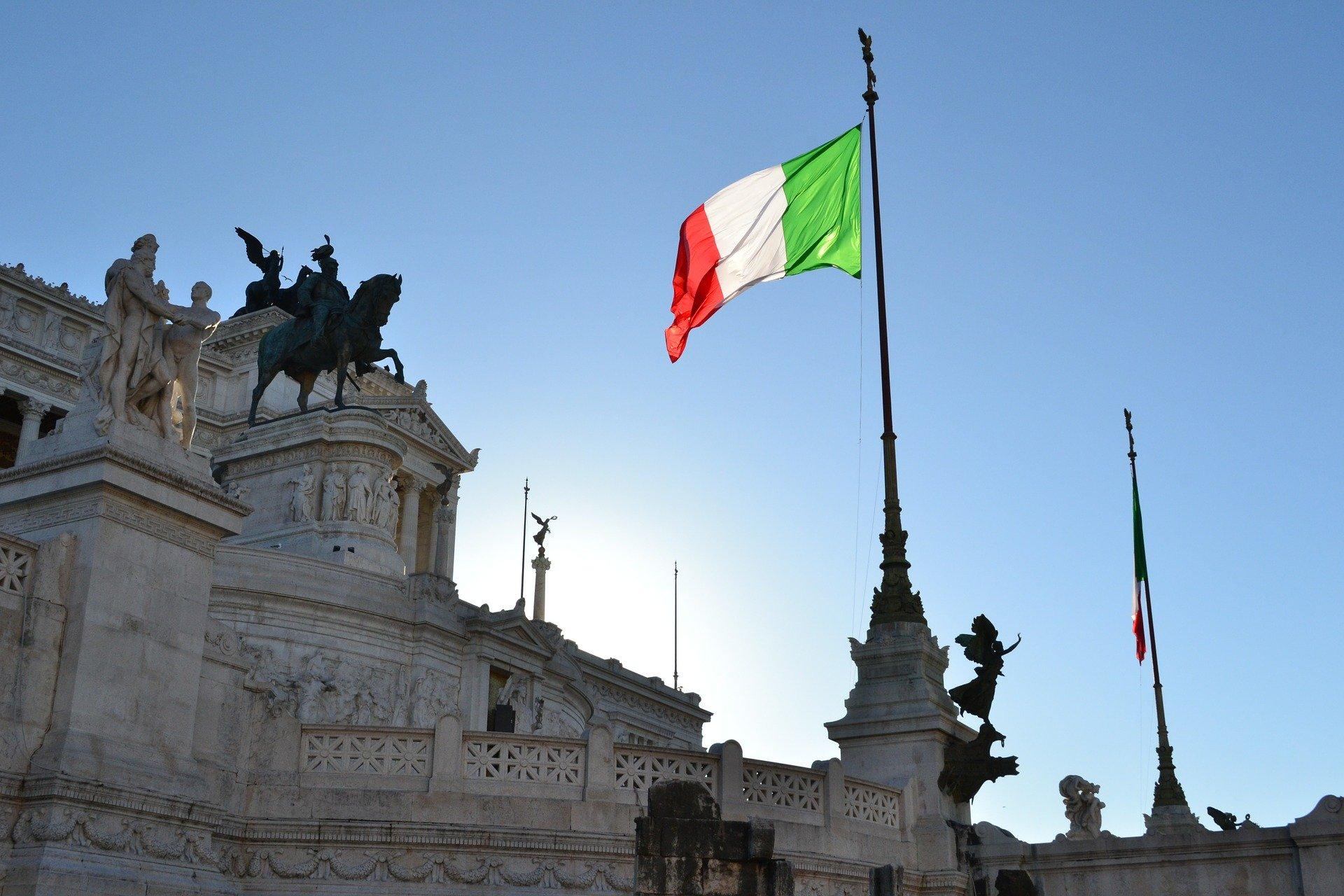 Италия флаг фото