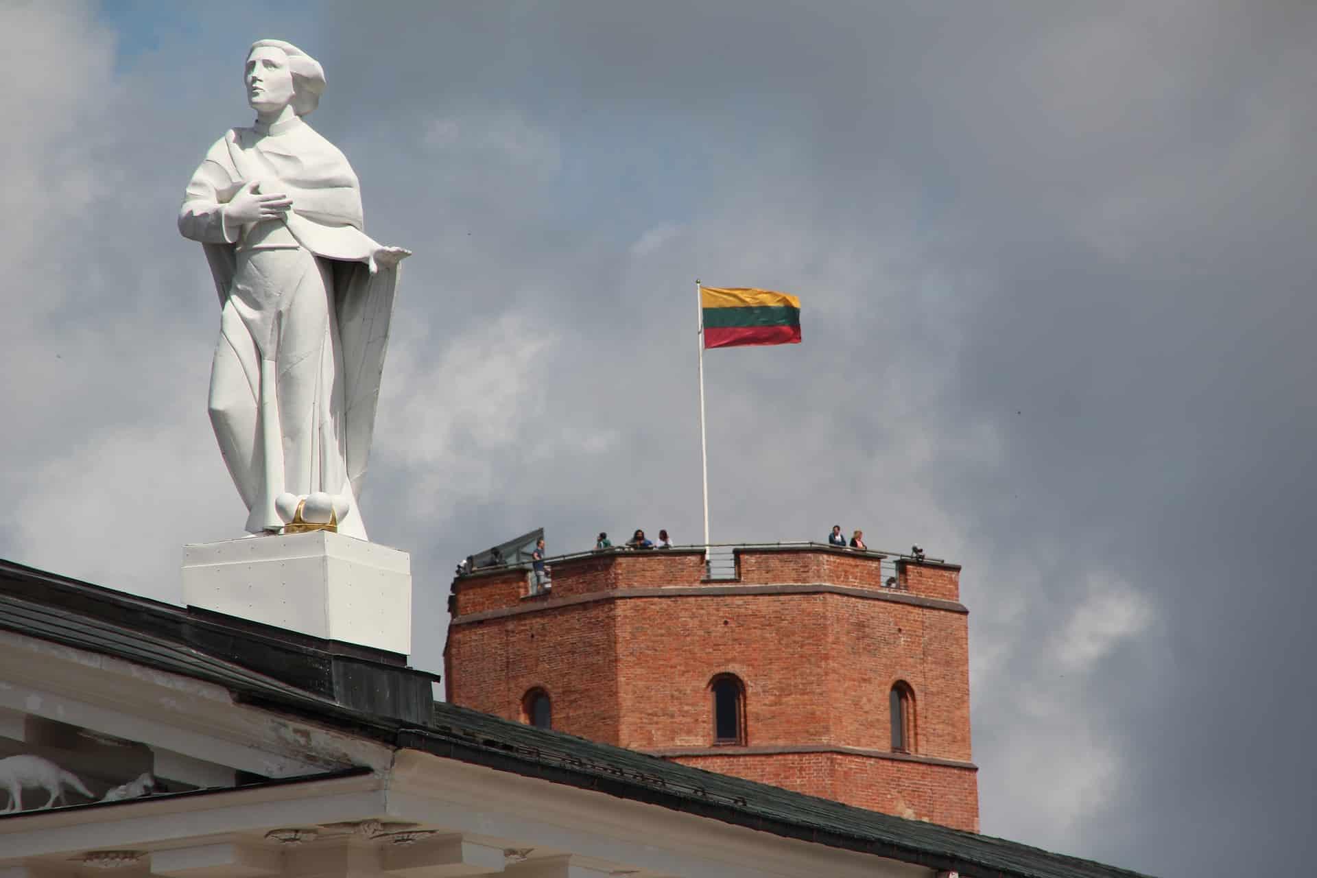 литва флаг фото