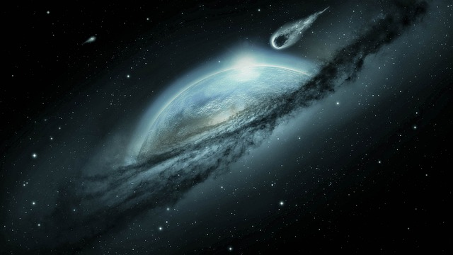 Метеорит летит фото