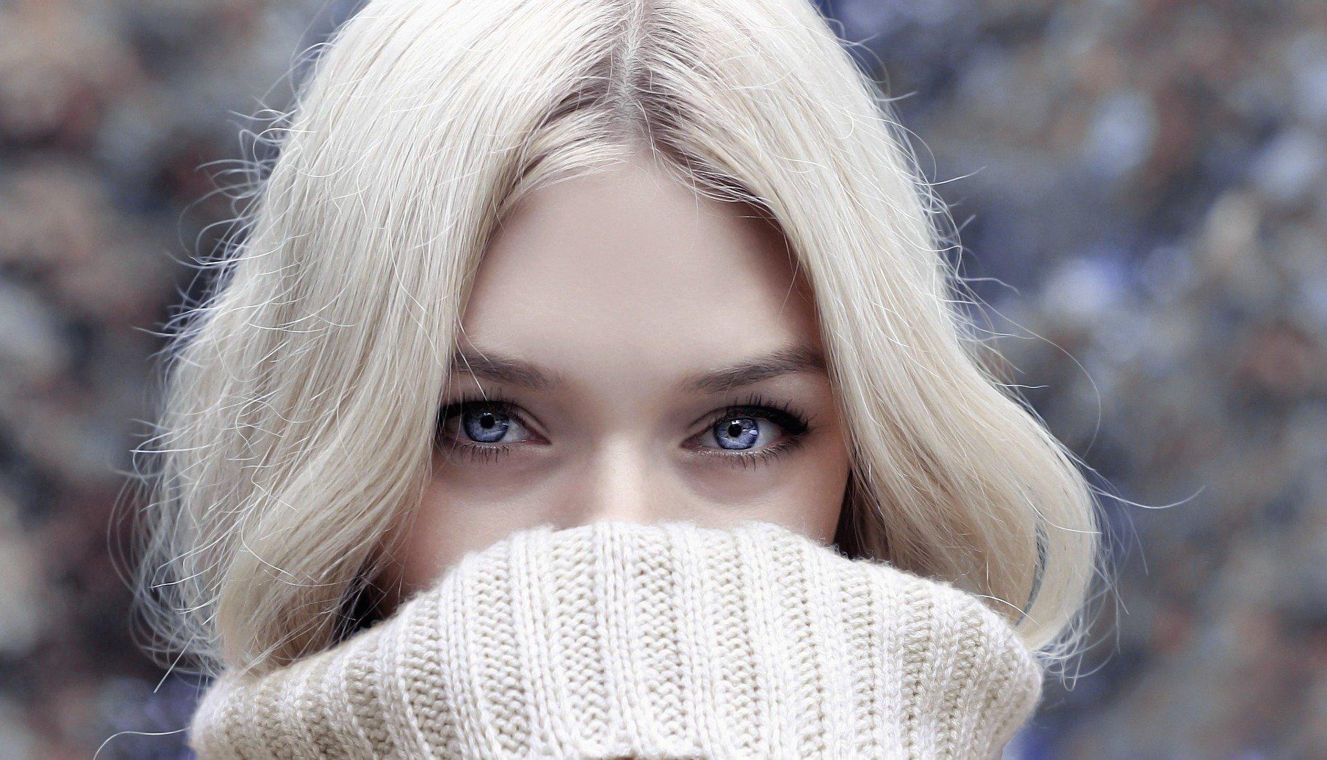 лицо девушки фото