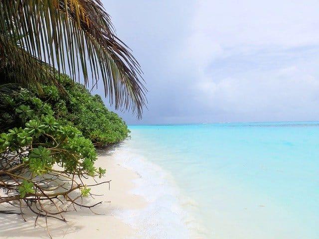 Мальдивы пляж фото