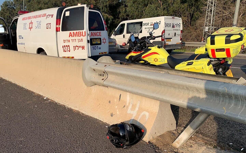 ДТП в израиле скорая и полиция фото