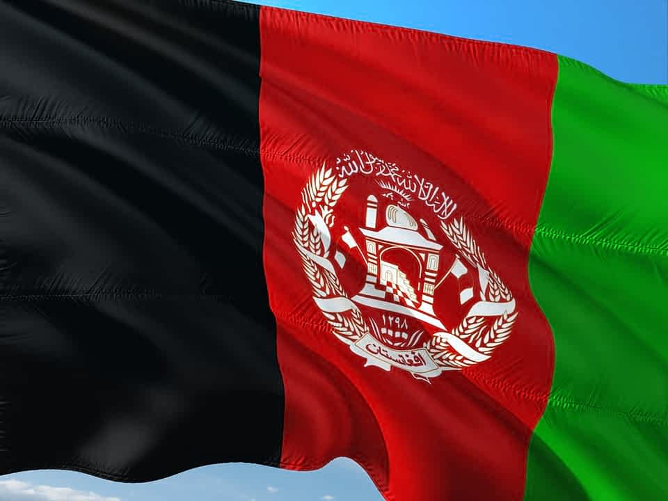 афганистан флаг фото