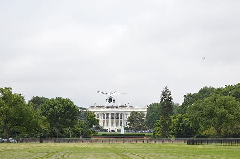 белый дом сша фото
