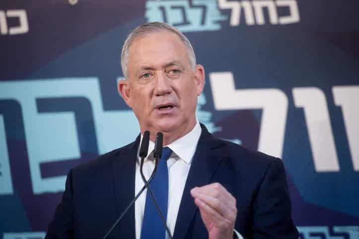 Бени Ганц предупредил израильтян о возможном землетрясении