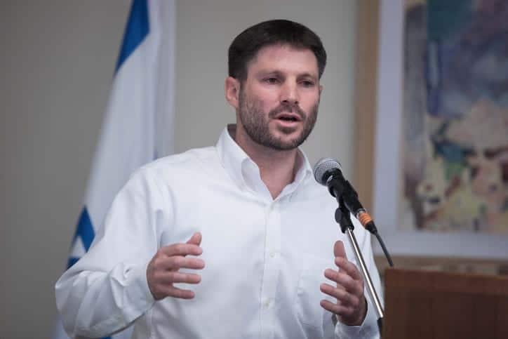 Бецалель Смотрич кнессет Израиль фото