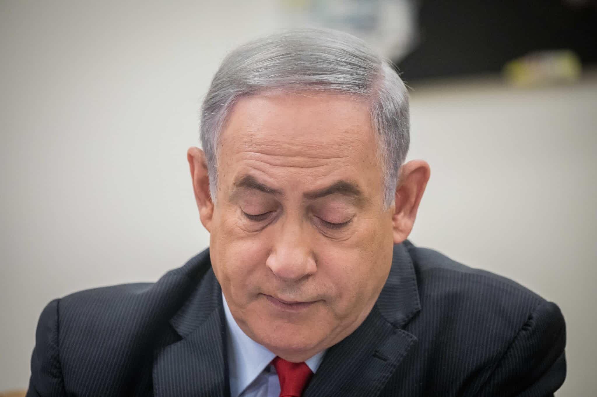 премьер-министр Биньямин Нетаниягу фото