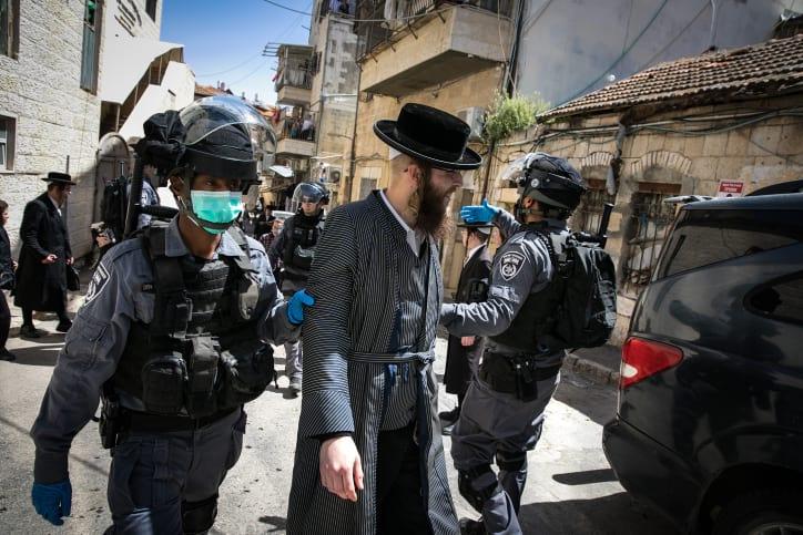 ультраортодоксы израиль иерусалим фото