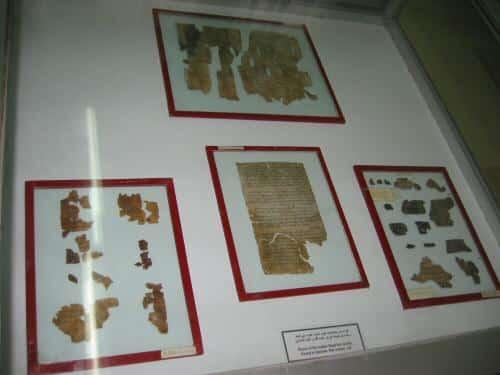 Фрагменты свитков Мертвого моря фото