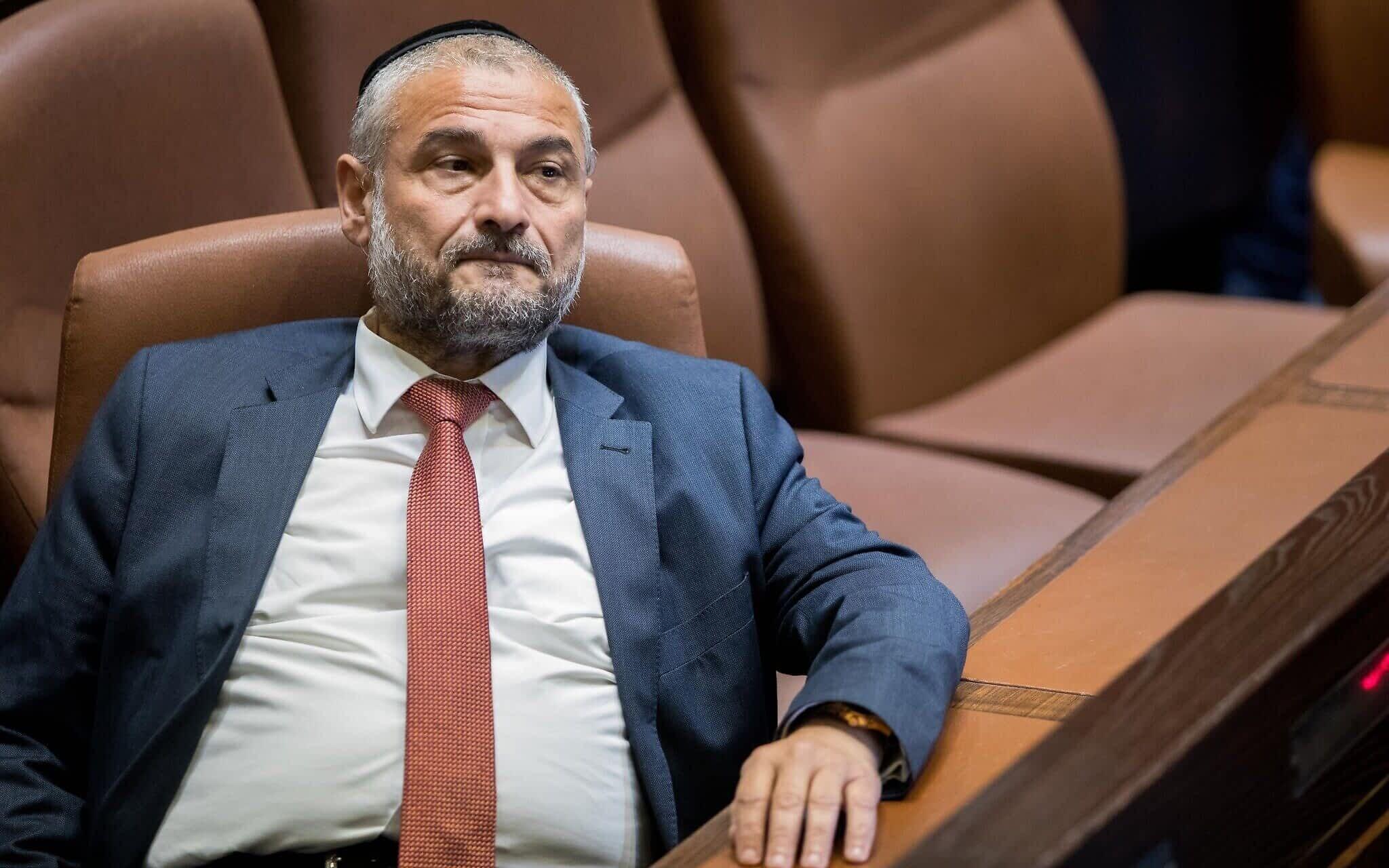 Deputat SHAS Moshe Abutbul