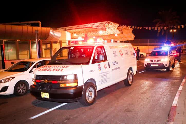 машина скорой помощи израиль фото