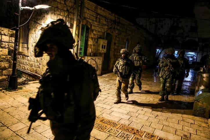 Недалеко от Дженина террористы напали на солдат ЦАХАЛа