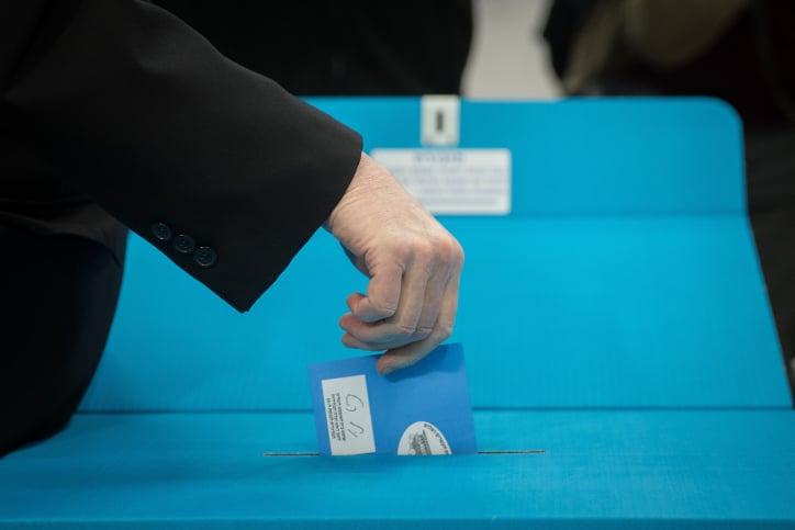 выборы израиль фото