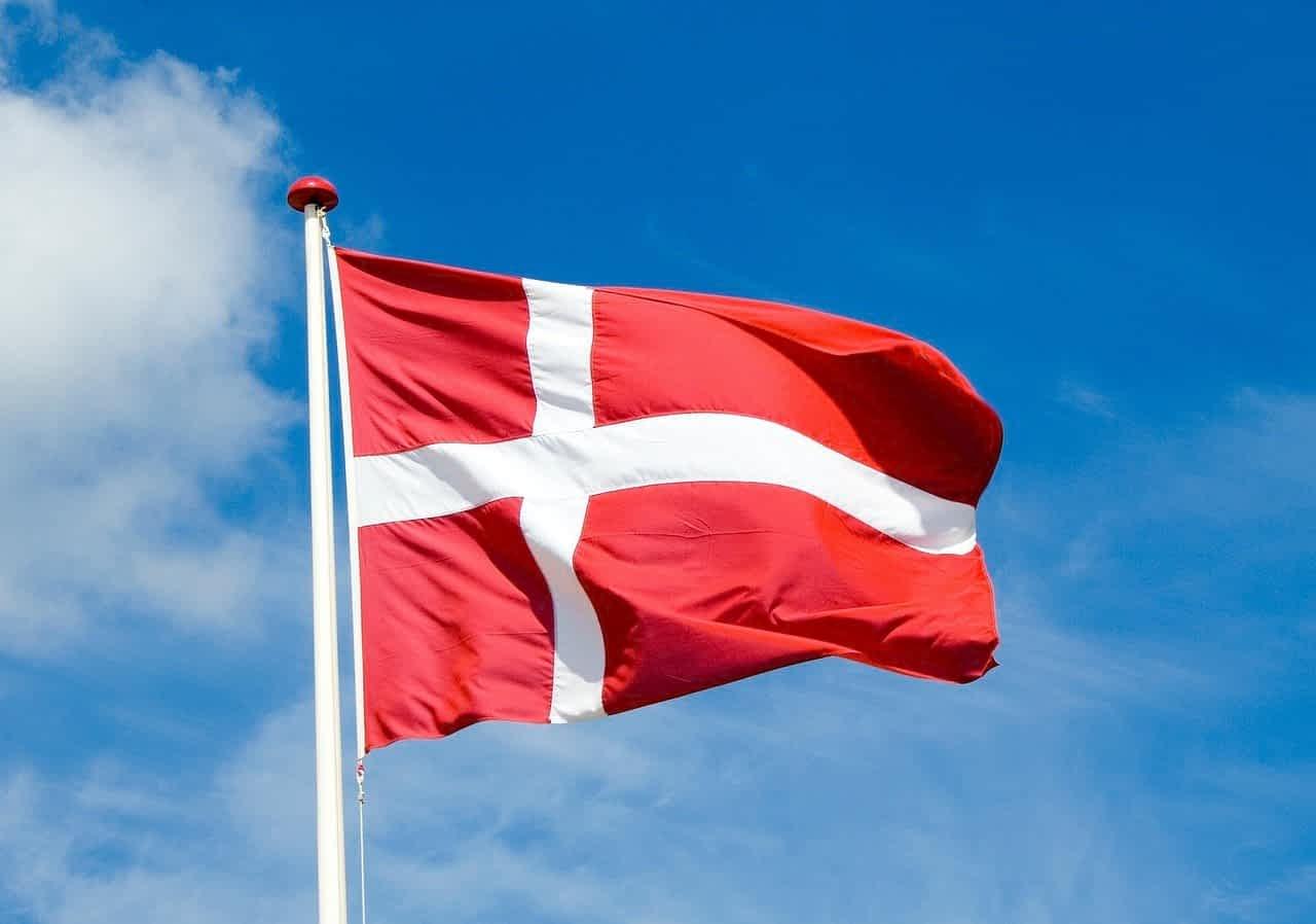 дания флаг фото