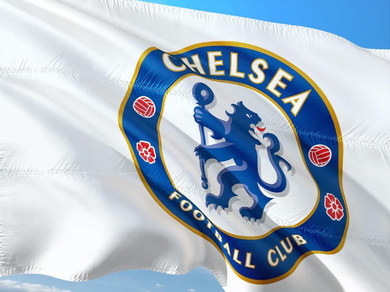 Флаг ФК Челси фото