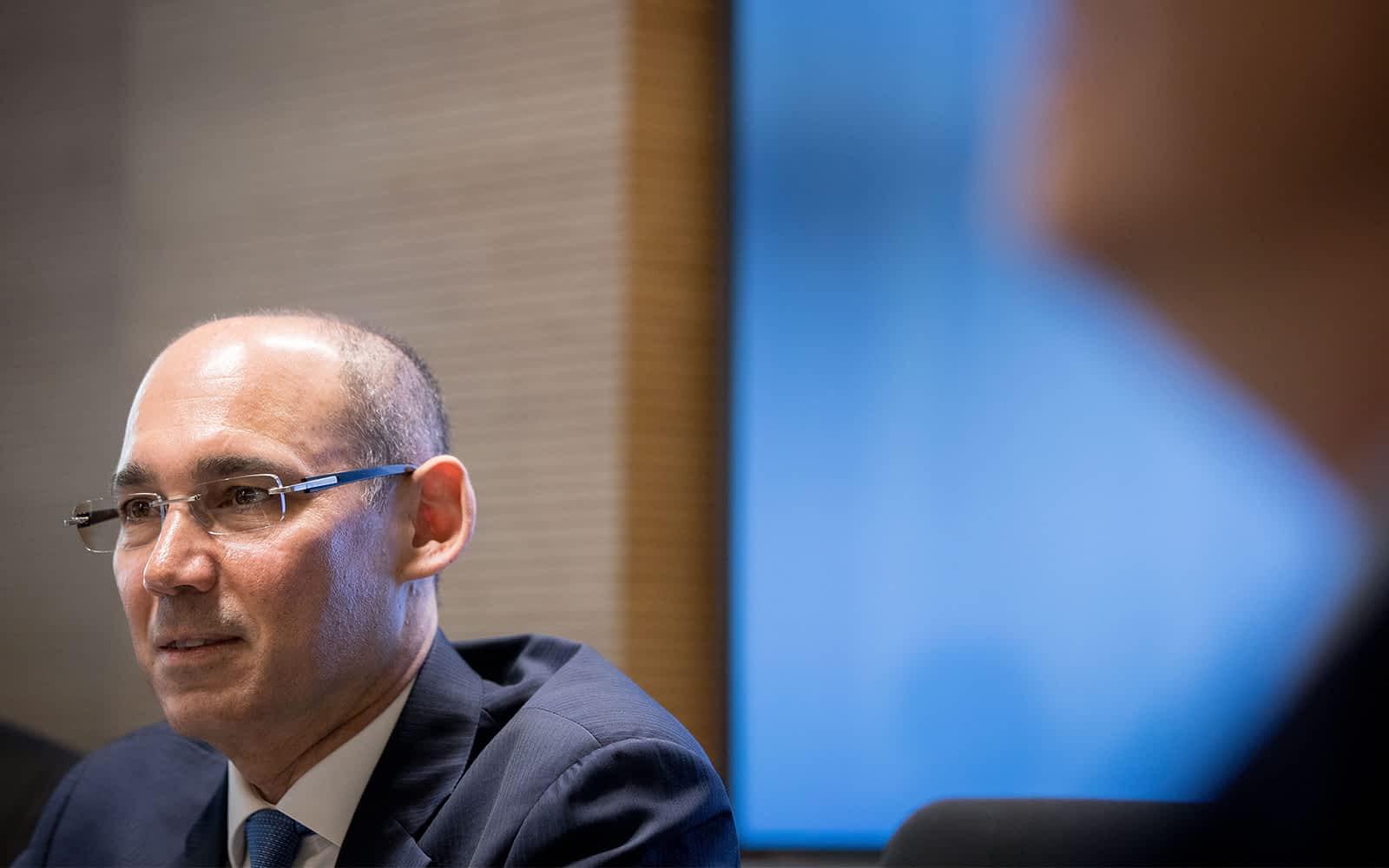 Глава банка Израиля Амир Ярон фото