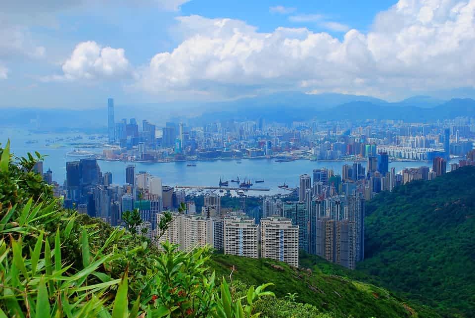 город Гонконг фото