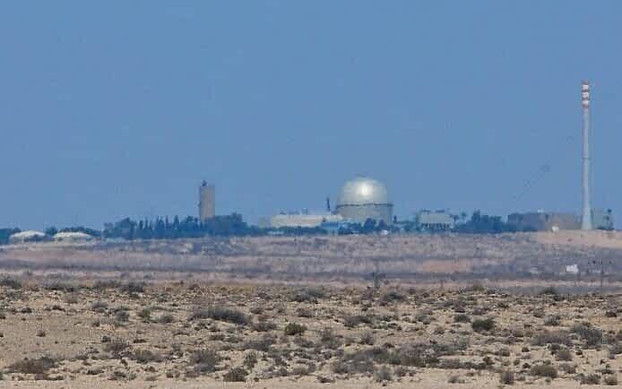 Израильский ядерный объект в Димоне фото