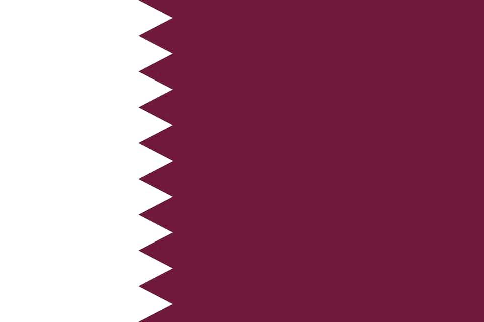 катар флаг фото