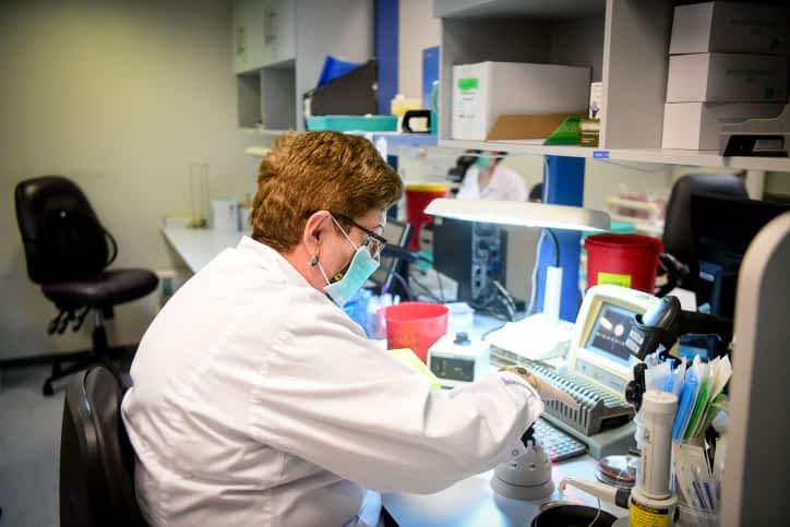 Laboratoriya po diagnostike koronavirusa
