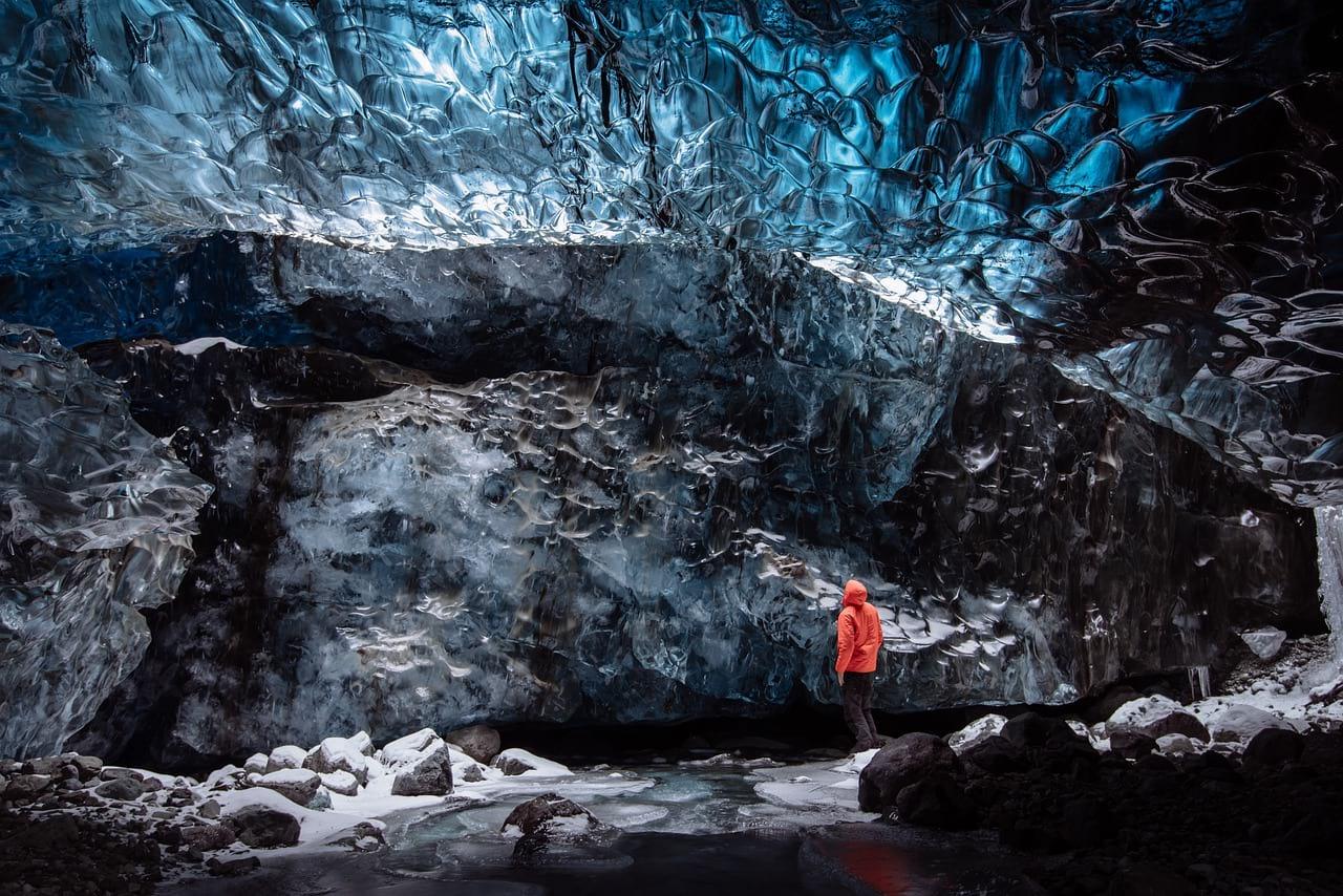 Lednik v Islandii