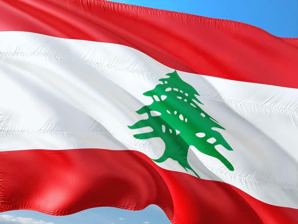 флаг Ливана изображение
