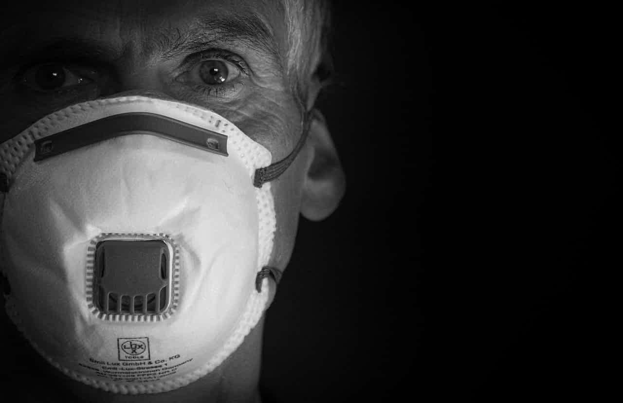защитная маска фото