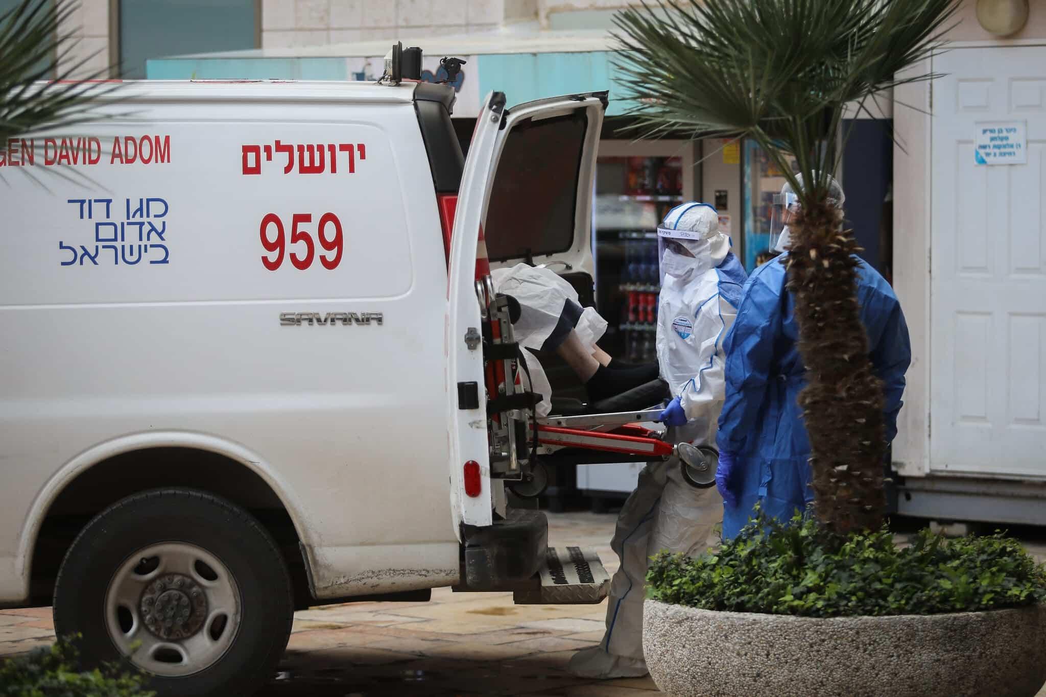 Mediki v Ierusalime gospitaliziruyut patsienta s podozreniem na koronavirus