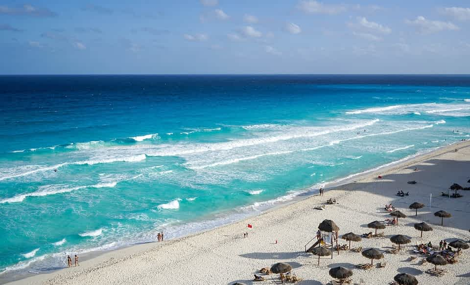 Meksika plyazh Kankun