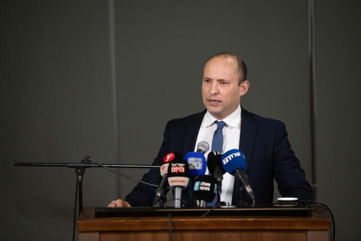 Нафтали Беннет пресс-конференция фото