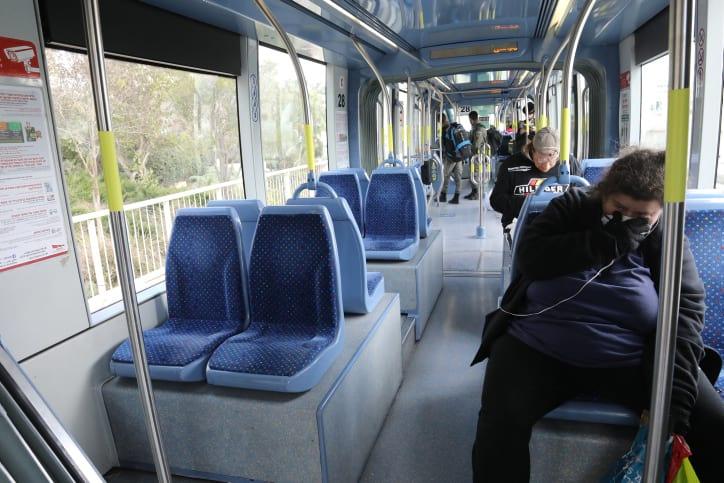 общественный транспорт израиль фото