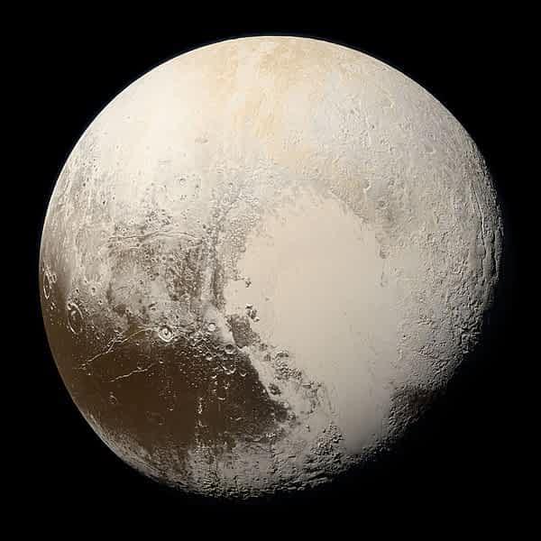 Плутон планета Солнечная система иллюстрация