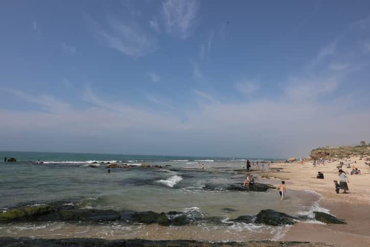 Пляжи Израиля фото