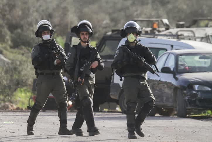 Полиция Израиля патрулирование фото