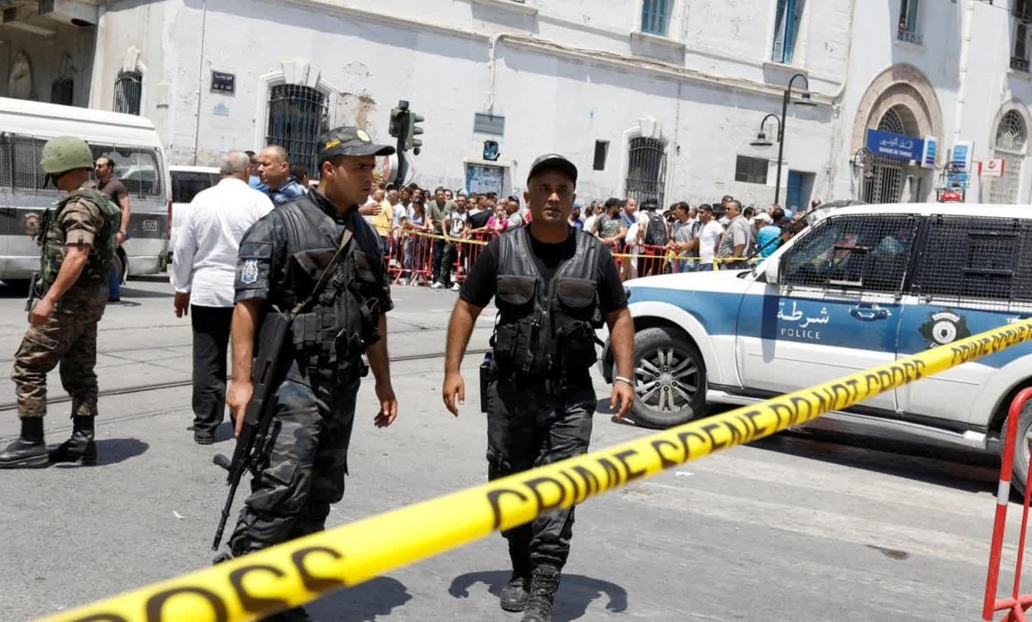 Полиция Туниса фото