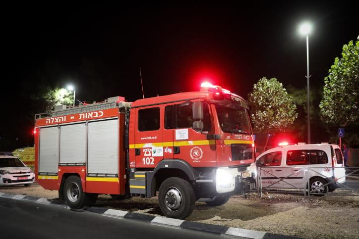 пожарная служба израиль фото