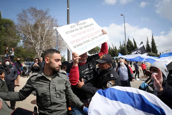 Protesty v Ierusalime 2