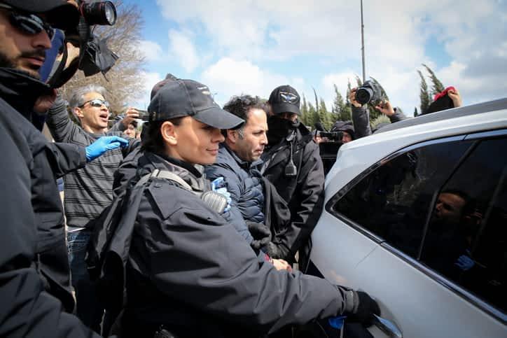 Protesty v Ierusalime 3