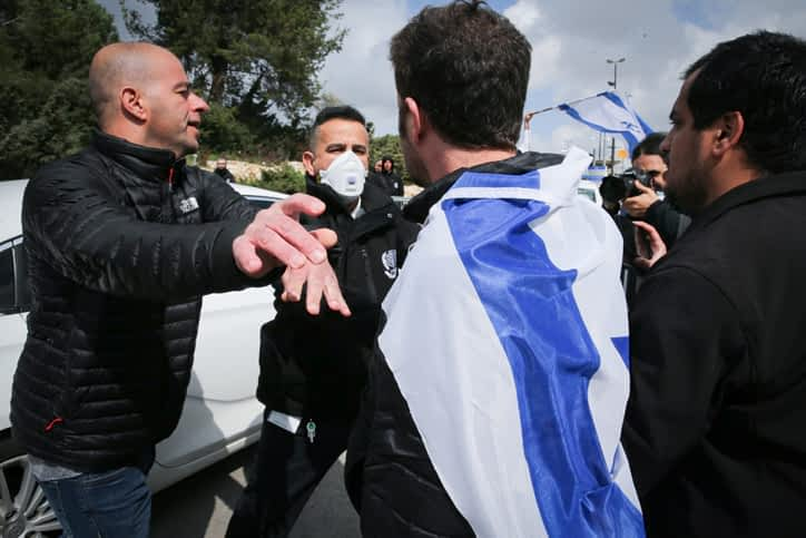 Protesty v Ierusalime
